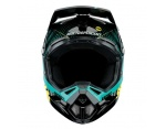 100% Aircraft Mips r-core teal full face kask S (55-56 cm)