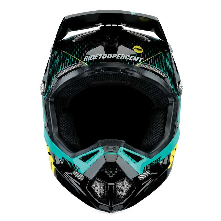 100% Aircraft Mips r-core teal full face kask M (57-58 cm)