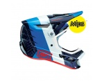 100% Aircraft Mips r8 blue carbon full face kask L (59-60 cm)