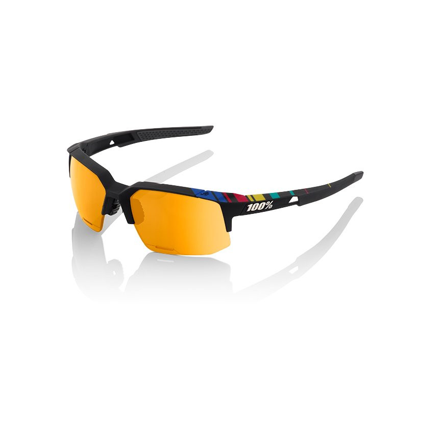 100% Speedcoupe Sagan Limited Edition Gold Mirror Lens okulary