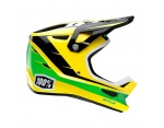 100% Status d-day yellow full face kask M 57-58cm