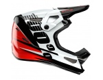 100% Status red full face kask XL 61-62cm