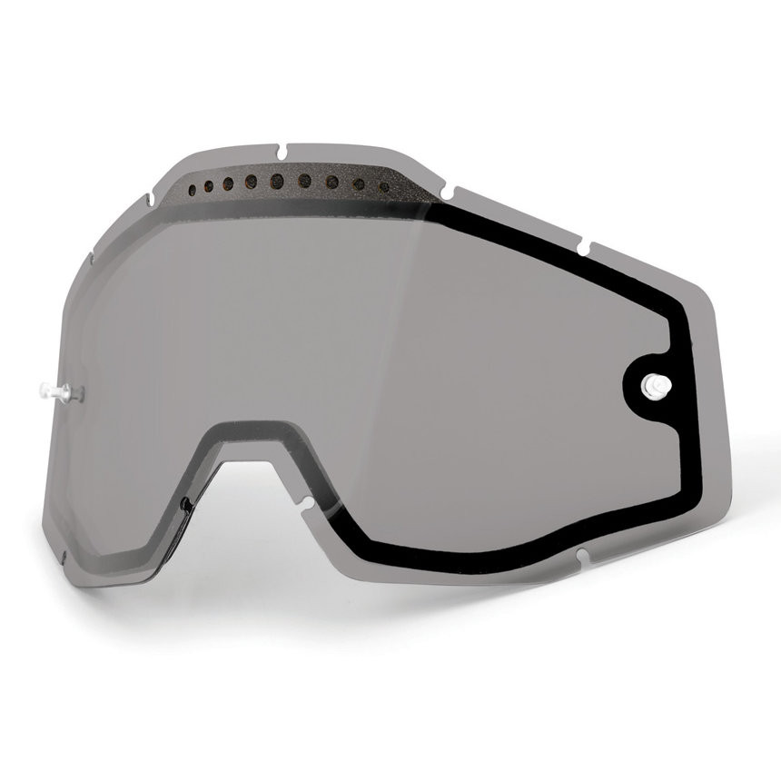 100% Vented Dual Clear Lens Smoke szyba Racecraft Accuri Strata