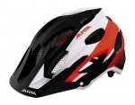 Alpina Carapax black white neon red L 57-62cm kask MTB