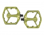 CrankBrothers Stamp 7 pedały Limited Edition green Small