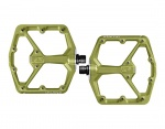 CrankBrothers Stamp 7 pedały Limited Edition green Large