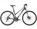 Cube Cross Pro Lady black \'n white anodized 2013