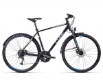 Cube Curve Allroad black silver blue rower