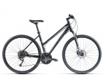Cube Curve Pro black anthrazit grey Lady 2014