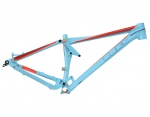 Cube Sting WLS 140 SL 27.5 rama full suspension powderblue\'n flashred