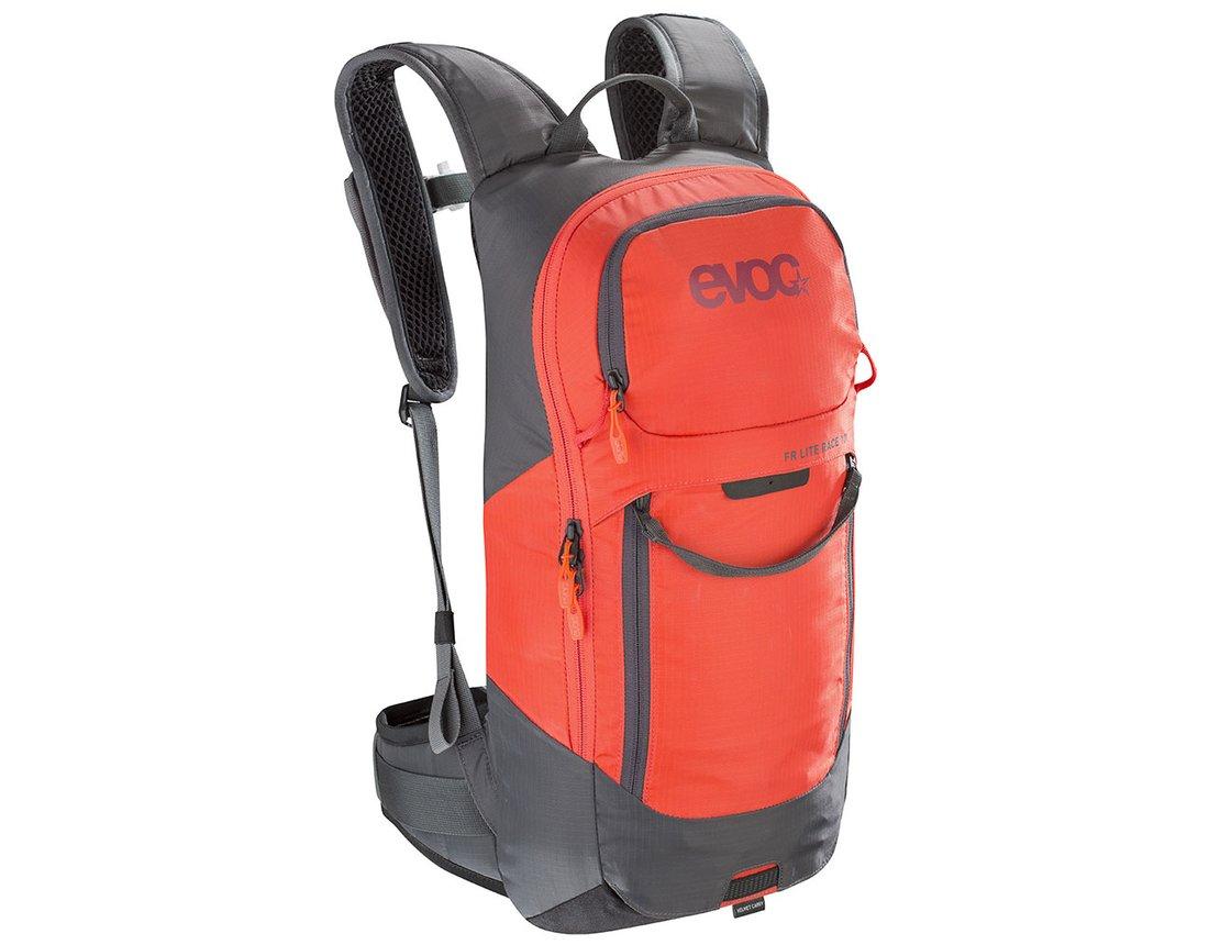 e1f5cf284738a Evoc FR Lite Race 10L Protektor S plecak carbon grey orange ...