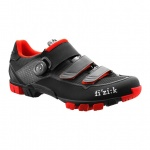 Fizik M6B Uomo buty MTB black/red 45