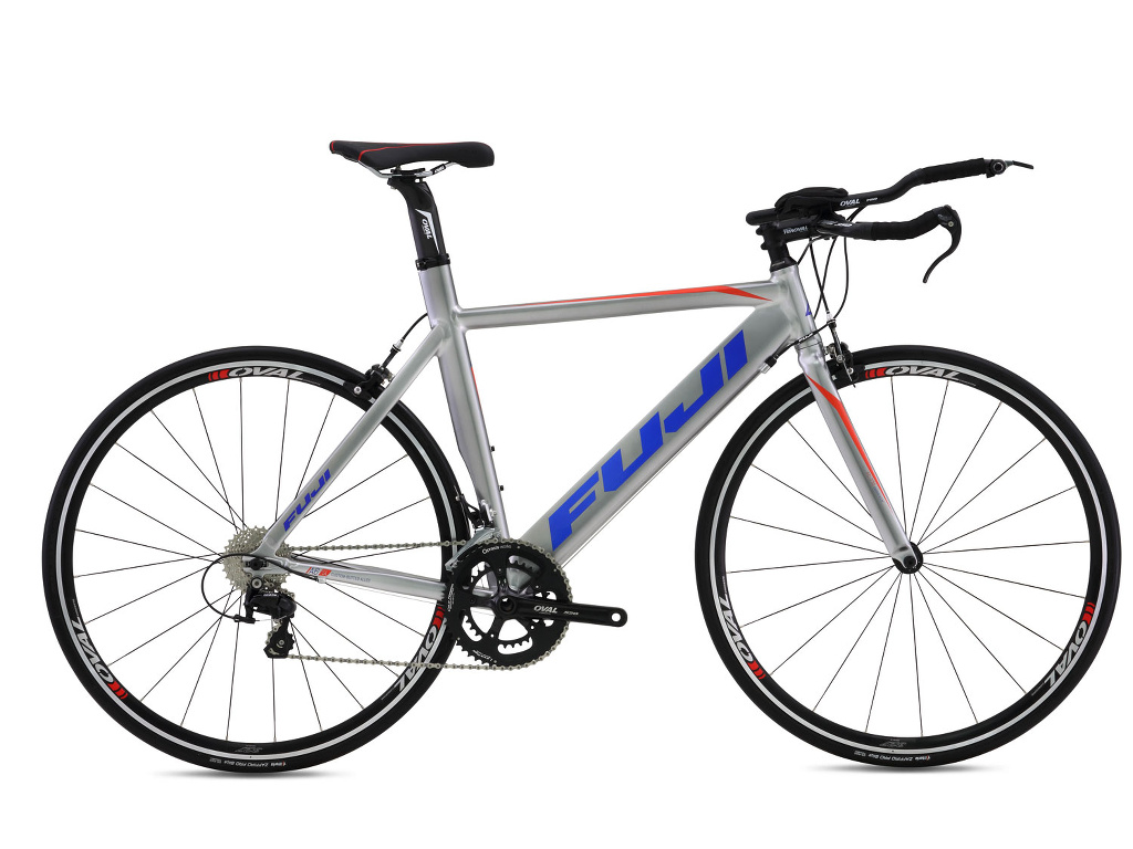 Fuji Aloha 1.1 Brushed Aluminum 2016 Triathlon 54cm