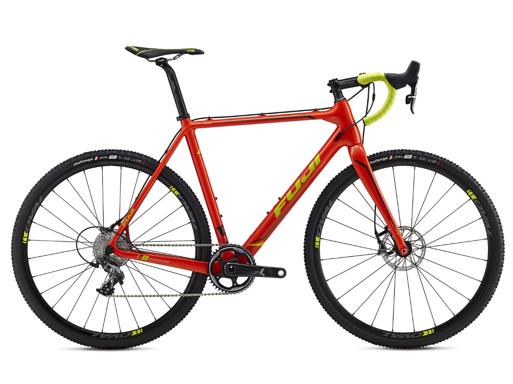 Fuji Altamira 1.3 CX Carbon Red Orange Citrus 2016 52cm