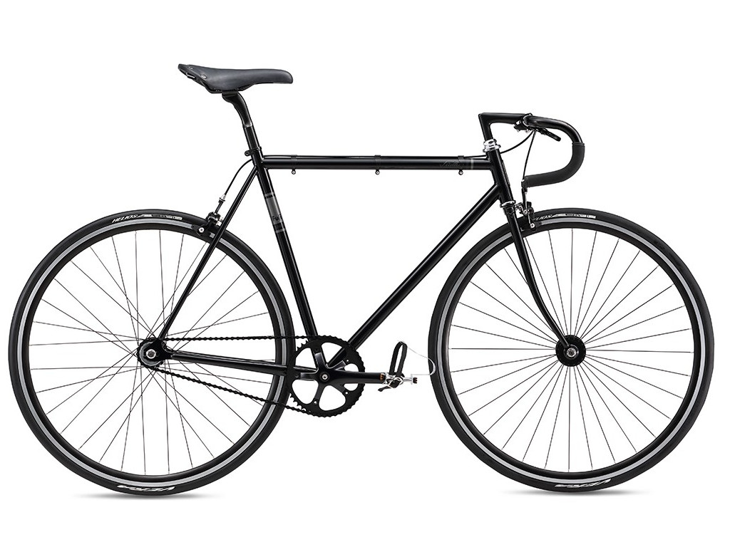 Fuji Feather Black 2016 rower single-speed 61cm