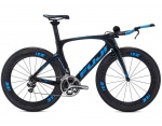 Fuji Norcom Straight 1.1 Carbon/Cyan 2016 Triathlon 51cm