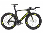 Fuji Norcom Straight 1.3 Carbon/Citrus 2016 Triathlon 49cm