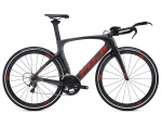 Fuji Norcom Straight 2.1 Carbon Grey/Red 2016 Triathlon 51cm