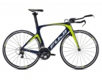 Fuji Norcom Straight 2.5 Carbon Navy/Citrus 2016 Triathlon 49cm