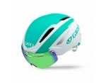 Giro Air Attack Shield Matte White Turquoise kask do jazdy na czas L