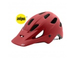 Giro Chronicle MIPS MTB mat dark red kask L 59-63 cm