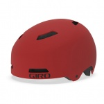 Giro Quarter FS Dirt mat dark red kask L 59-63 cm