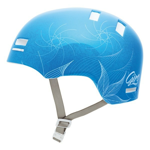 Giro Section niebieski grafika kask L