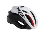Met Rivale HES white/black kask L 59-62cm