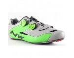 Northwave Extreme reflex silver green szosa buty 42
