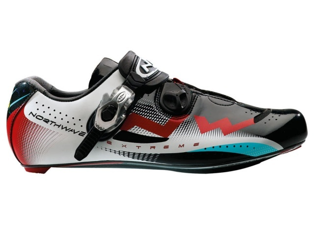 Northwave Extreme Tech buty szosa black/white/red r. 46