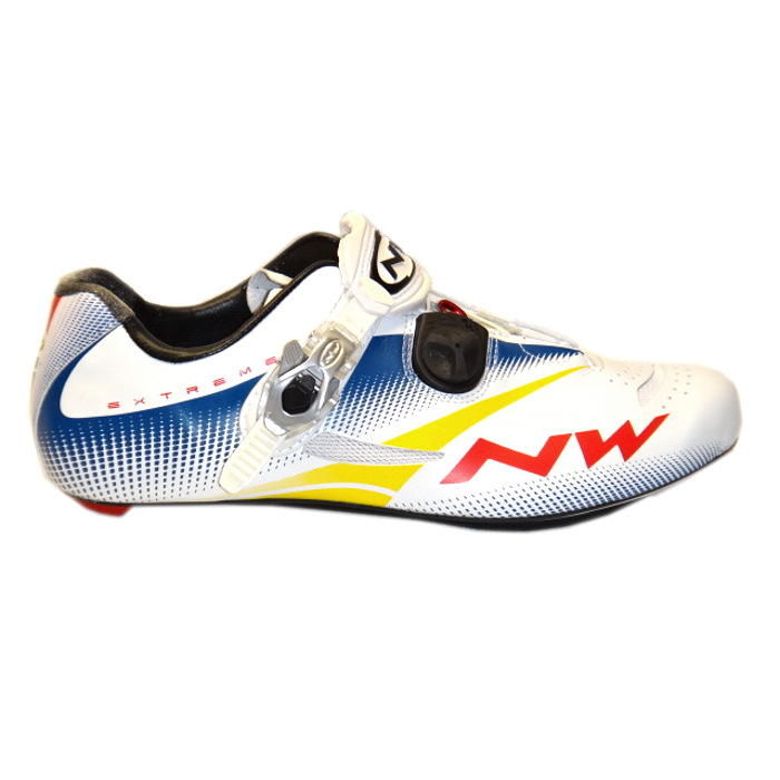 Northwave Extreme Tech buty szosa white blue 43