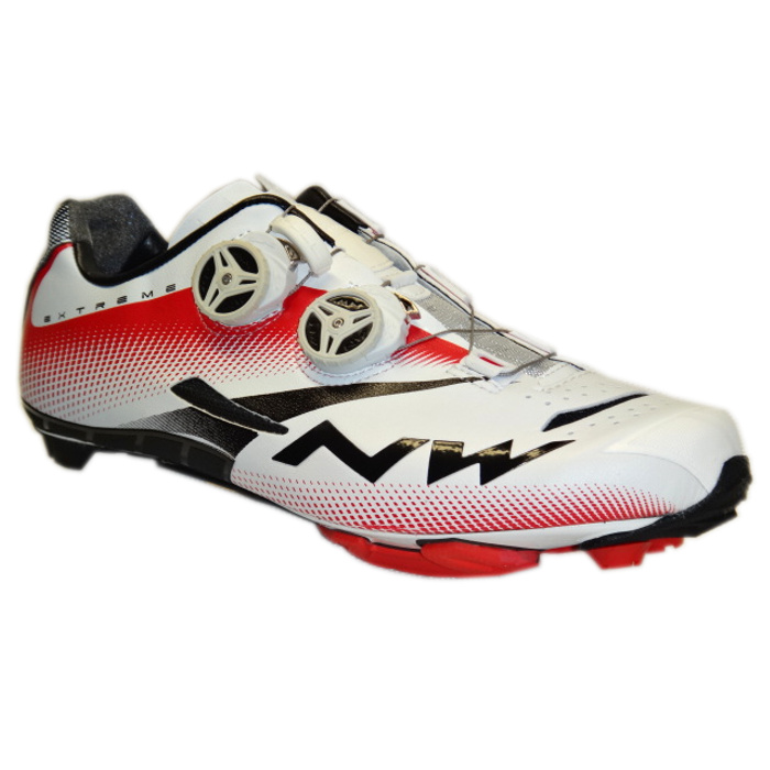 Northwave Extreme Tech Plus white black red buty MTB 42
