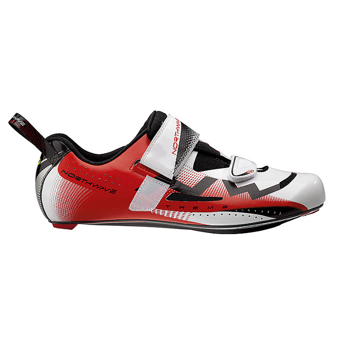 Northwave Extreme Triathlon white red buty 43