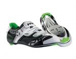 Northwave Galaxy buty szosa black/white/green