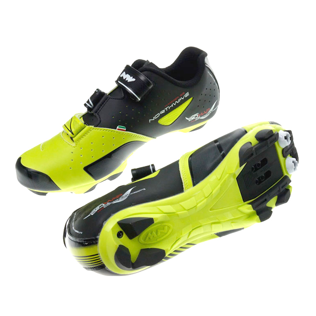 Northwave Hammer 3S buty MTB matt black/lime 45