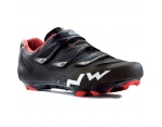 Northwave Hammer 3S buty MTB matt black/red