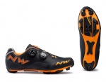 Northwave Rebel black orange buty MTB 40