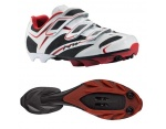 Northwave Scorpius 3S buty MTB white/black/red