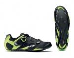 Northwave Sonic 2 Plus szosowe buty black/yellow fluo/white 40.5