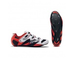 Northwave Sonic 2 white black red szosa buty 39