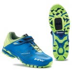 Northwave Spider 2 Michelin MTB buty blue/yellow 47