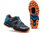 Northwave Spider Plus 2 MTB buty black/blue/orange 41