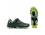 Northwave Spider Plus 2 green yellow flou MTB buty 39