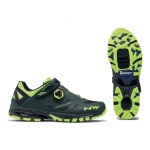 Northwave Spider Plus 2 green yellow flou MTB buty 46