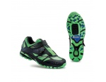 Northwave Spider Plus 2 buty MTB black-green fluo