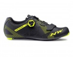 Northwave Storm Carbon black yellow fluo buty szosa 39