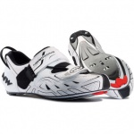 Northwave Tribute buty triathlon white black 44