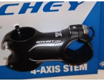 "Ritchey WCS 4-AXIS 44 1 1/4"" 6° 31.8/60mm mostek czarny"