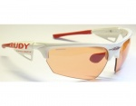 Rudy Project Noyz racing white ImpactX Photochromic red okulary