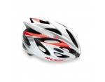 Rudy Project Rush kask szosowy white-red fluo shiny L